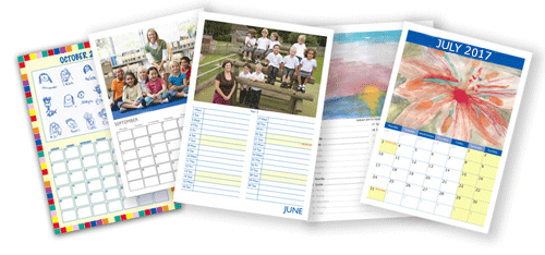 Example School Calendar Designs