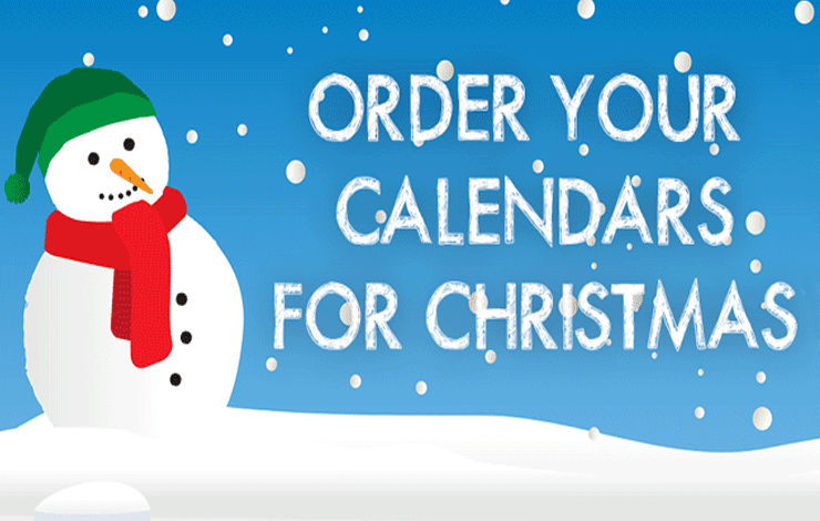 Order School Calendars For Christmas
