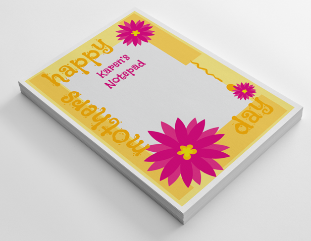 notepad printing notepads personalised notepads