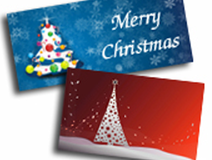 Fast Christmas Card Printing, Bury St Edmunds, Suffolk