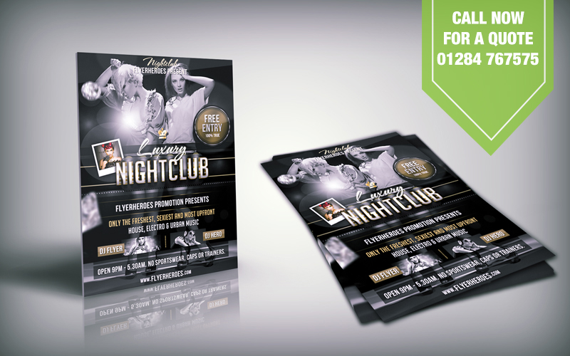 Flyer Printing Bury St Edmunds